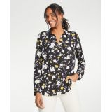 Anntaylor Floral Camp Shirt