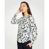 Anntaylor Poppy Cuffed Boatneck Top