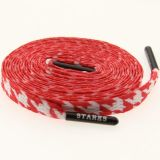 Starks Laces - Houndstooth Red