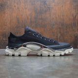 sports shoes 7f95a b3754 Adidas Raf Simons Men Detroit Runner (black  core black  cream white)