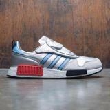Adidas Men MICROPACER x R1 (silver / silver metallic / light blue / footwear white)