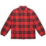 10 Deep Men Flannel Coaches Jacket (red) 597e57f8f99b