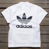 Adidas x HYKE Women HYKE Short Sleeve Sweatshirt (white)