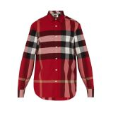 Burberry Windsor check-print shirt