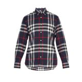 Burberry Richard medium check cotton shirt