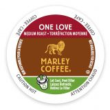 Marley Coffee 12-Count One Love Coffee for Single Serve Coffee Makers