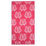 Pink Pineapple Beach Towel