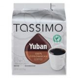 YUBAN Columbian 14-Count Medium Roast Coffee T DISCs for Tassimo Beverage System