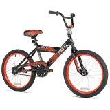 KENT Kent Street Metal 20-Inch Boys Bicycle in Black/Red