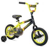 KENT Kent Street Racer 12-Inch Boys Bicycle in Black/Yellow