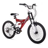 KENT Kent Super 20-Inch Boys Mountain Bicycle in Red/Black