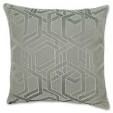 Laundry by SHELLI SEGAL Textura Geometric Throw Pillow in Grey