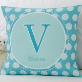Her Name 18-Inch Square Throw Pillow
