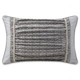 Waterford Ryan Oblong Throw Pillow in Platinum