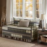 Woolrich Winter Plains Reversible Daybed Cover Set in Tan