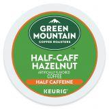 Green Mountain Coffee Half-Caff Hazelnut Coffee Keurig K-Cup Pods 18-Count