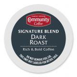 18-Count Community Coffee Dark Roast Coffee for Single Serve Coffee Makers