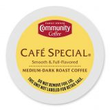 18-Count Community Coffee Cafe Special Coffee for Single Serve Coffee Makers