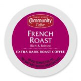Pack 18-Count Community Coffee French Roast for Single Serve Coffee Makers