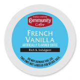 18-Count Community Coffee French Vanilla Coffee for Single Serve Coffee Makers