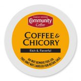 18-Count Community Coffee Coffee & Chicory for SIngle Serve Coffee Makers
