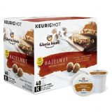 Gloria Jeans Hazelnut Flavored Coffee Keurig K-Cup Pods 48-Count