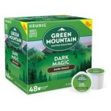Green Mountain Coffee Dark Magic Keurig K-Cup Pods 48-Count Value Pack