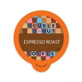80-Count Double Donut Coffee Espresso Roast Coffee for Single Serve Coffee Makers