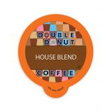 80-Count Double Donut Coffee House Blend Coffee for Single Serve Coffee Makers