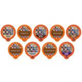 80-Count Double Donut Coffee Variety Pack Sampler for Single Serve Coffee Makers