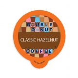 80-Count Double Donut Coffee Hazelnut Coffee for Single Serve Coffee Makers