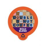 80-Count Double Donut Coffee Bold Blend Coffee for Single Serve Coffee Makers