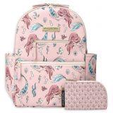 Petunia pickle bottom Petunia Pickle Bottom Little Mermaid Ace Backpack Diaper Bag in Pink