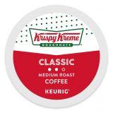 Keurig K-Cup Pods 18-Count Krispy Kreme Doughnuts Classic Medium Roast Coffee