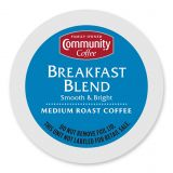 Pack 18-Count Community Coffee Breakfast Blend for Single Serve Coffee Makers