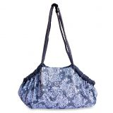 Baby Bella Maya 5-in-1 Diaper Tote Bag in Royal Mist