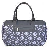 JJ Cole Parker Weekender Diaper Bag in Grey Floret