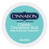 Cinnabon® Keurig K-Cup Pack 18-Count Cinnabon Classic Cinnamon Roll Light Roast Coffee