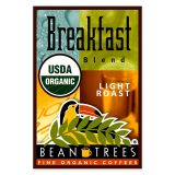 Beantrees Organic Breakfast Blend Ground Coffee
