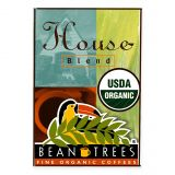 Beantrees 2-Pack House Blend Whole Bean Organic Coffee