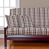 Siscovers SIScovers Hound Dog Microfiber Futon Slipcover in Cream