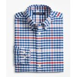 Brooksbrothers Boys Cotton Oxford Multi-Color Gingham Sport Shirt