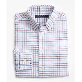 Brooksbrothers Boys Non-Iron Supima Oxford Mini Tatterall Sport Shirt