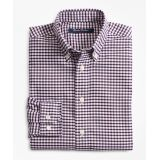 Brooksbrothers Boys Non-Iron Supima Oxford Mini Check Sport Shirt