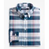 Brooksbrothers Boys Cotton Oxford Bold Plaid Sport Shirt