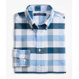Brooksbrothers Boys Cotton Oxford Bold Gingham Sport Shirt