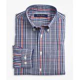 Brooksbrothers Boys Non-Iron Glen Plaid Sport Shirt