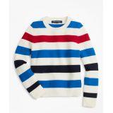 Brooksbrothers Boys Cotton Stripe Crewneck Sweater