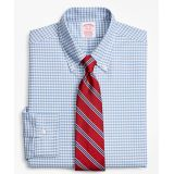 Brooksbrothers Original Polo Button-Down Oxford Traditional Fit Dress Shirt, Gingham