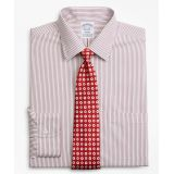 Brooksbrothers Stretch Regent Fitted Dress Shirt, Non-Iron Stripe